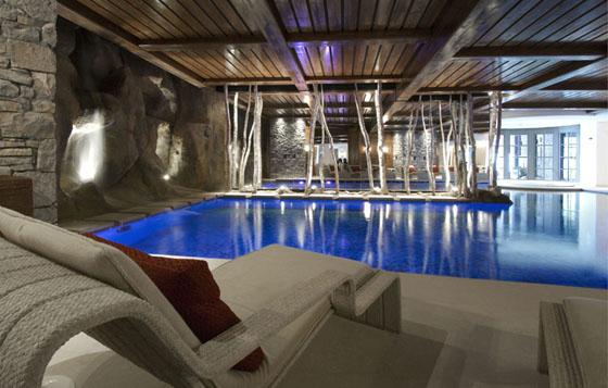 Le spa du très luxueux Cheval Blanc de Bernard Arnault