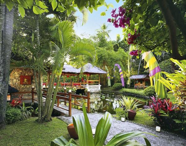terrasses et jardins du Bali Hyatt Sanur