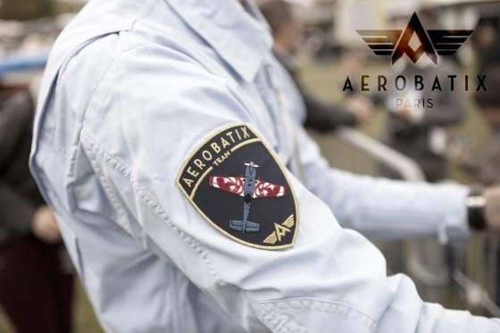 La combinaison de Pilote en toile. Aerobatix