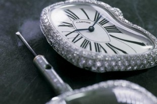 Montre crash de Cartier