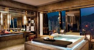 Les 5 hôtels les plus hauts du monde Ritz Carlton Honk Kong