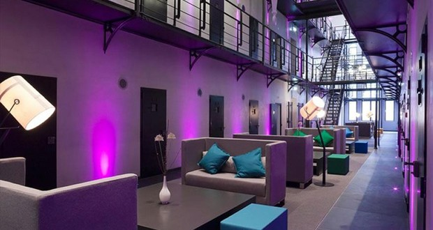 prison transformée en hôtel