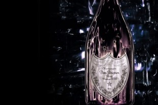 champagne rosé Don Perignon