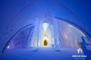 Hôtels incroyables hotel de glace