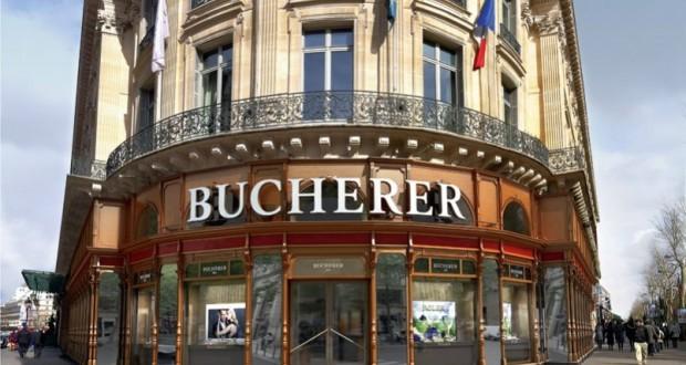 les temples du luxe à Paris Bucherer