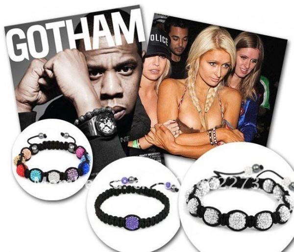 Le Bracelet Shamballa de luxe au poignet de toutes les stars
