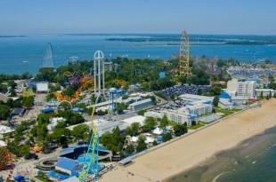 Le plus grand parc d'attractions au monde : Cedar Point.