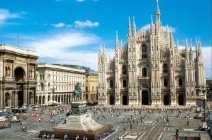 Le centre historique de Milan, avec son Duomo, est idéal pour passer un weekend de luxe.
