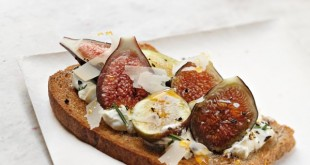 Un chef, une recette : Benoit Witz et ses Tartines de caillé de brebis, figues et miel