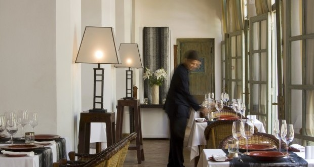 restaurant les jardins de la Medina Marrakech
