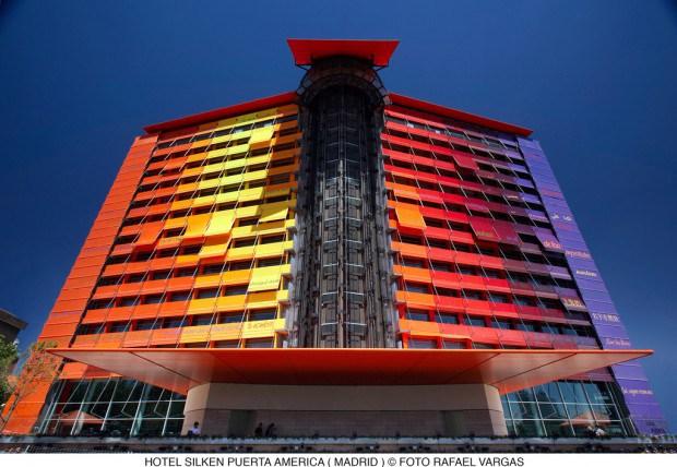 Top 5 hôtels de luxe à Madrid : Hôtel Silken Puerta America