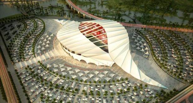 Ce stade est un des projets du Qatar. Il fonctionnera à l'énergie solaire et sera climatisé.