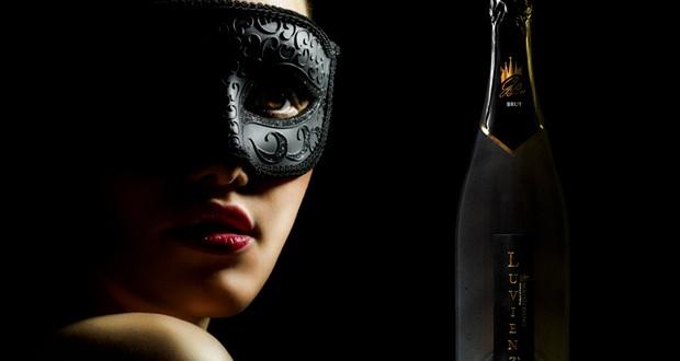 champagne au caviar