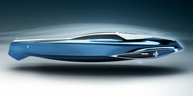 Rolls-Royce 450EX le concept boat au design épuré