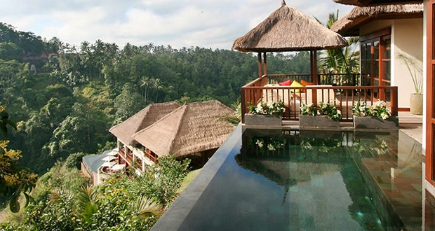 hanging gardens ubud lorsque bali r invente l h tel de luxe. Black Bedroom Furniture Sets. Home Design Ideas
