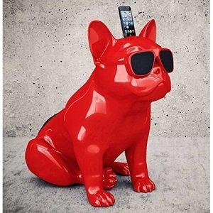 cadeau-luxe-homme-enceinte-bluetooth-dog-rouge