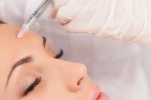 Injection de botox au visage