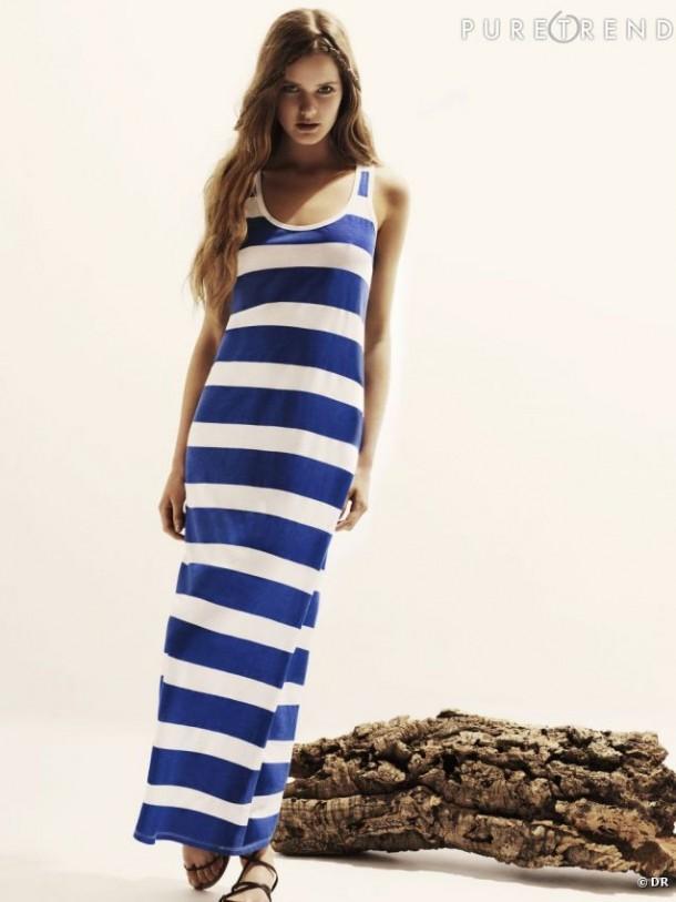 La robe marinière tendance été 2013