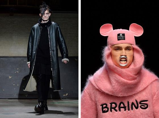 Entre Alexander McQueen et XX la Fashion Week londonienne joue la carte de décalé.