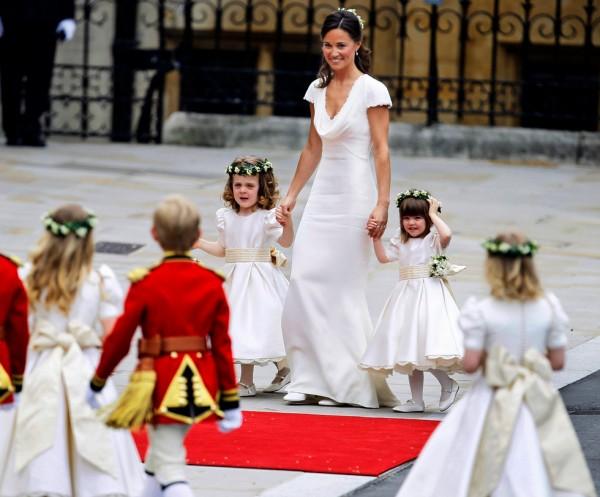 Pippa Middleton, demoiselle d'honneur