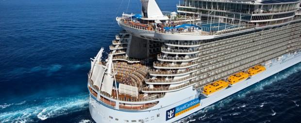 En service depuis 2010, l'Allure of the Seas est le plus gros paquebot du monde.
