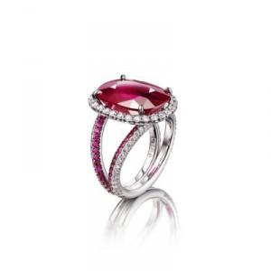 bijou pour la Saint-Valentin Adler Red Sunset bague