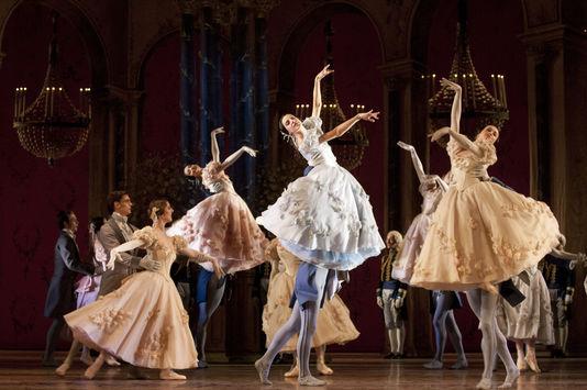 Ballet Onéguine au Palais Garnier