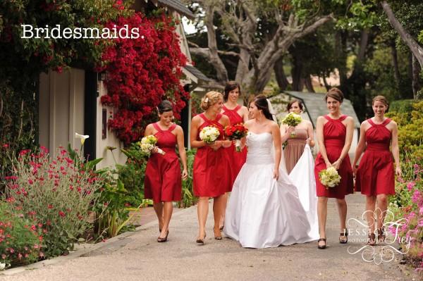 """Les """" Bridesmaid """"  demoiselle d'honneur"""