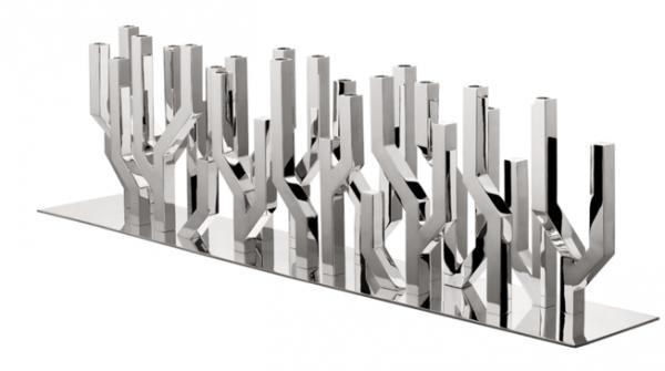 Un centre de table de luxe creation du designer Ora-ito pour Christofle
