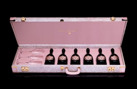 Dom Perignon Guitar Case