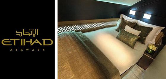 Avec son lit X et sa salle de bain privative la compagnie émirati offre le plus précieux de vol à une clientèle triée sur le volet.