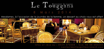 Le Touggana Restaurant & Lounge Marrakech