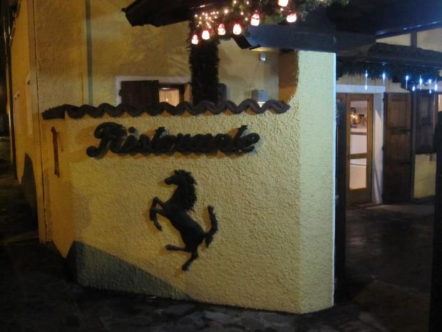 Le restaurant Cavallino est un lieu emblématique. Enzo Ferrari y venait souvent.