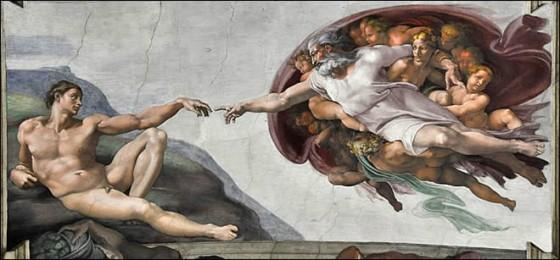 La Chapelle Sixtine, l'œuvre de plusieurs vies La création d'Adam