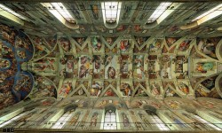 La Chapelle Sixtine, l'œuvre de plusieurs vies voûte