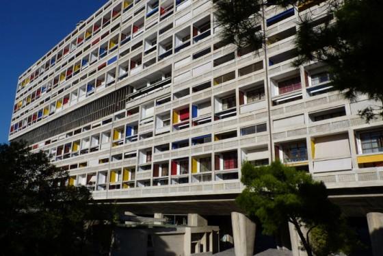 La Cité Radieuse, monument phare de Marseille - vue d'ensemble