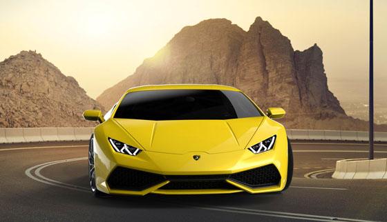 Avec ses courbes superbes, la Lamborghini Huracan n'a rien à envier à ses prédécesseures.