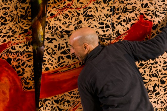 Larbi Cherkaoui Exposition à Marrakech