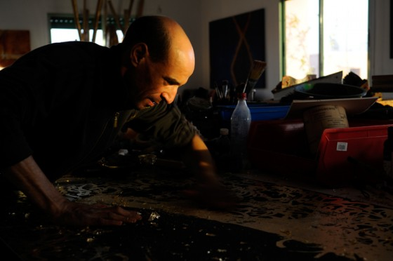 Larbi Cherkaoui pour la David Bloch Gallery
