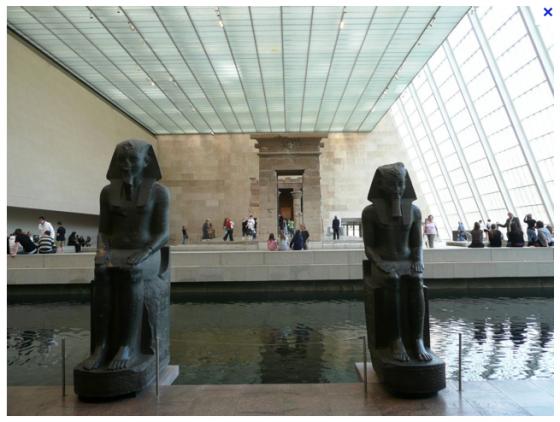 Le Metropolitan Museum of Art Le Temple de Dendour