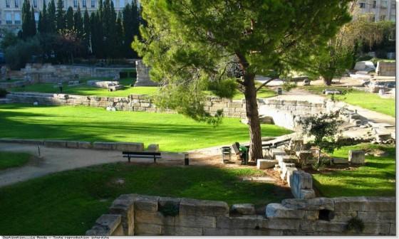 Le Top 5 des Musées Marseillais - Le jardin des vestiges