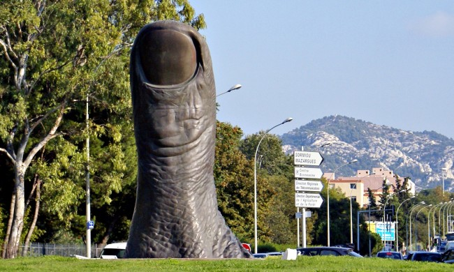 Le Top 5 des Musées Marseillais - Le Pouce de César