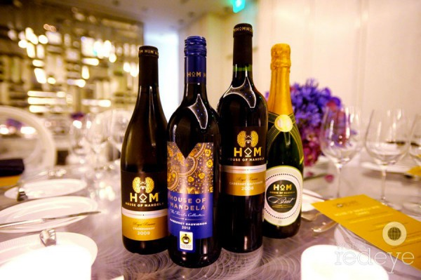 vin House of Mandela commerce équitable