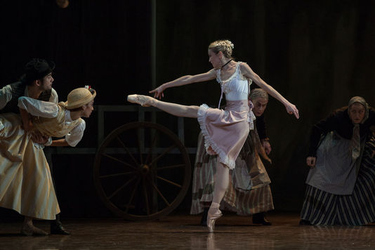 Mademoiselle Julie Ballet Brigit Cullberg opera garnier