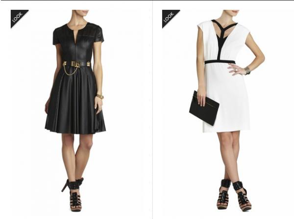 Mode constratée noir et blanc