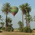 montgolfière à Marrakech
