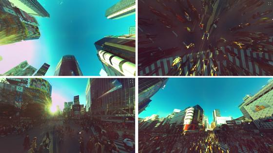 Des panoramas à 360° avec la caméra Panono comme ici à Tokyo.