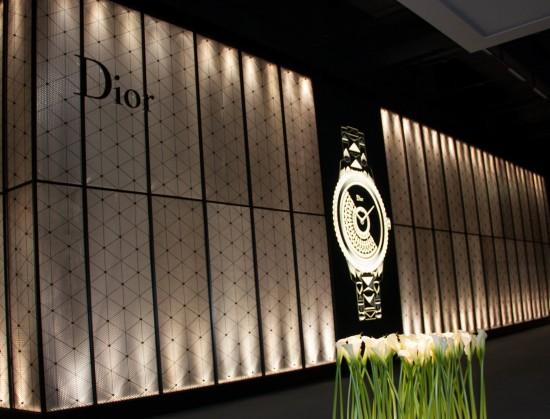 Baselworld 2013, Pavillon Dior