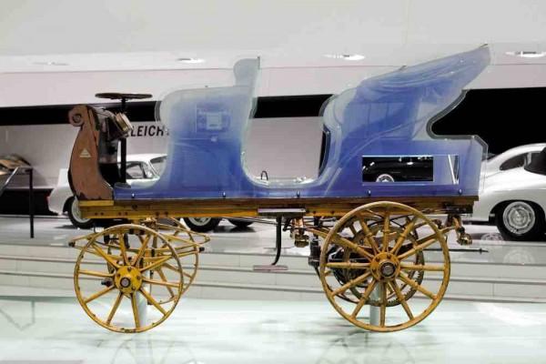 La Porsche P1 a intégré le musée Porsche