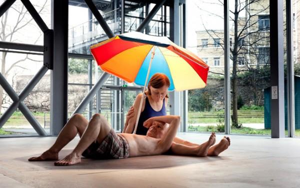 Ron Muek à la  Fondation Cartier pour l'art contemporain.